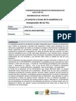 20609 Formulacion Conceptual y Metodologica Del Proyecto de Aula