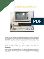 Pengertian dan Definisi Komputer Menurut Para Ahli.docx