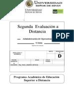2do Evaluación a Distancia ADO    2013 II