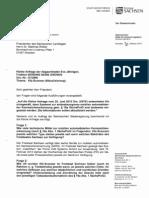 Anfrage Kennzeichen-Erfassung Sachsen 2013