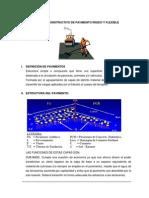 PROCESO CONSTRUCTIVO DE PAVIMENTO RÍGIDO Y FLEXIBLE