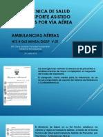 n.t. s. Ambulancias Aereas