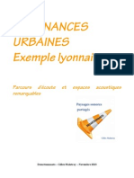 résonances urbaines