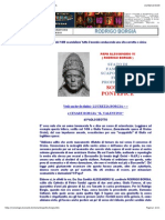 Papa Alessandro Vi - Rodrigo Borgia - Biografia