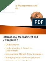 International Management and Globalization