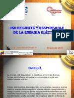 Uso Eficiente y Responsable de La Energia Electrica