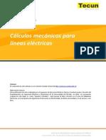 Calculo Mecanico Lineas