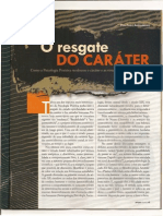 o Resgate Do Carater Por Fabio Apollinario
