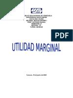 Informe de Utilidad Marginal