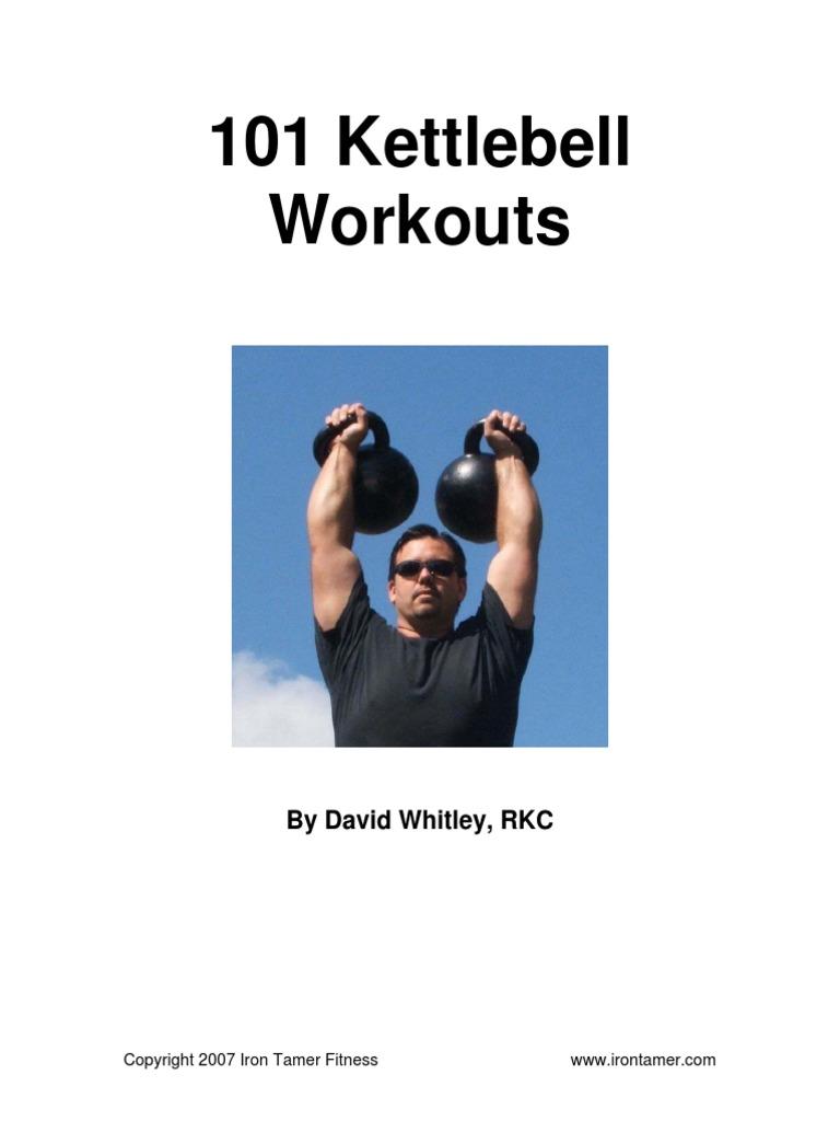 101 Kettlebell Workouts High Intensity Interval Training Kettlebell