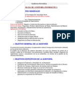 Formato de Ejemplo de Programa de Auditoria de TI