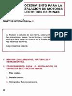 Instalacion de Motores en Minas