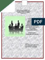 UNIVERSIDAD FERMÍN TORO=Formulación Proyectos=Equipo 3