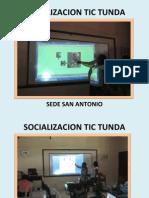 Socializacion San Antonio