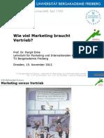 Wie Viel Marketing Braucht Vertrieb Prof Dr Enke