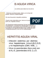 Hepatitis Aguda Virica
