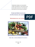 Microbiologia de Alimentos Dra Adenilde R Nascimento
