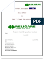 Final Religare Report