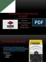 Multimetro Ricardo Osorio Fernanda Muso David Vela