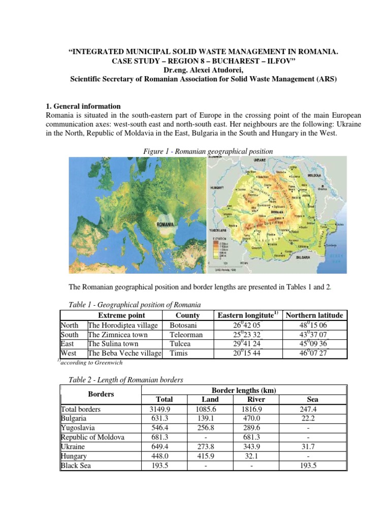 Case Study Swm   Gross Domestic Product   Waste Management
