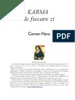 Carmen Harra - Karma de Fiecare Zi.doc