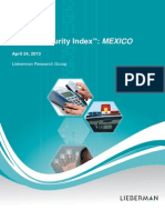 Unisys Security Index Mexico May 2013