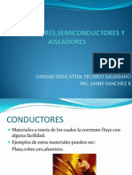 Conductores, Semiconductore y Aisladores Clase 1