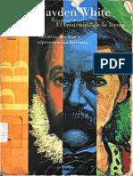Hayden White-El Contenido de La Forma Narrativa Discurso y Representacion Historica Copia