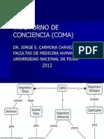 CLASE Nº1-CLASE DE COMA  MEDICINA I 2012 Actual
