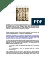 La Sucesión Apostólica y la Jerarquía de la Iglesia