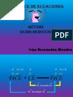 quimica ecuacion