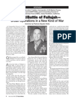 3M Second Battle of Fallujah-Urban Operation in a New Kind of War