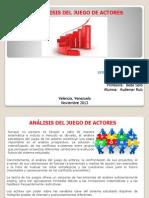 Analisis Del Juego de Actores, Audemar Ruiz