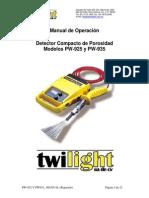 Detector de Porosidad PCWI PW
