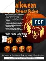 Wildlife Pumpkin Pattern Packet