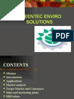 Greentech Business Plan
