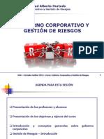 GOBIERNO COPORATIVO  Y GESTIÓN DE RIESGOS Prof. Daniela Galdana