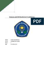 MAKALAH PENDAPATAN NASIONAL.docx