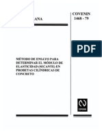 NORMA COVENIN METODO ENSAYO MODULO ELASCITIDAD SECANTE CONCRETO.pdf