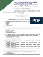 Simulacro IV; Concurso de Directores y Subdirectores 2013