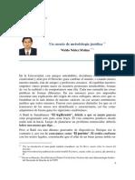Núñez Molina - Un cuento de metodología jurídica