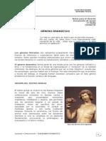 1º Medio-Leng.-Unidad nº6-G. Dramático - Guía docente