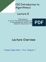Lecture8 - Greedy Algorithms