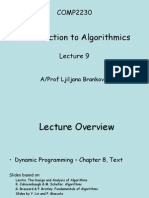 Lecture9 - Dynamic Programming