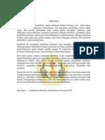 Kajian Kebutuhan Informasi Tentang Perawatan Di Rumah Pada Pasien Tb Paru Di Wilayah Kerja Puskesmas Melong Asih Kecamatan Cimahi Selatan Kota Cimahi
