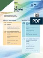 Agenda Seminario IIPE 2013