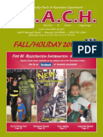 The Parks & Recreation 2013 Fall/Holiday REACH catalog
