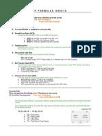 PMP Formulas (2)