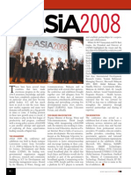 eASiA 2008 - Event Report