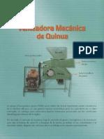 Venteadora  mecanica de quinua